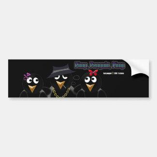 Pimp Penguin Pimp Bumper Sticker