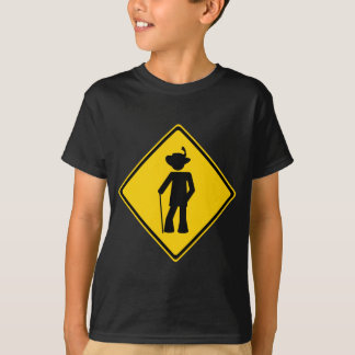 Pimp Road Sign T-Shirt