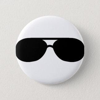 pimp sunglasses shades 6 cm round badge