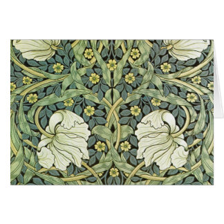 Pimpernel by William Morris Greeting Card
