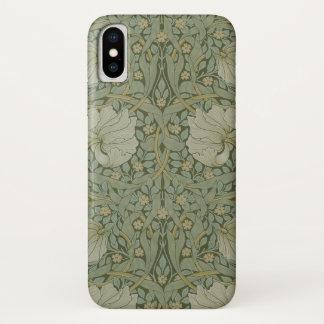 Pimpernel by William Morris Vintage Floral Textile iPhone X Case