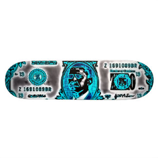 Pimpin' Obama Graffiti Airbrush Deck Skate Boards