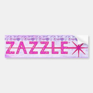 Pimping Zazzle for Valentines Day Bumper Sticker