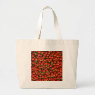 Pin cushion / Tiny Tomato Jumbo Tote Bag