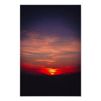 pin-get camera bavarian winters sunset poster