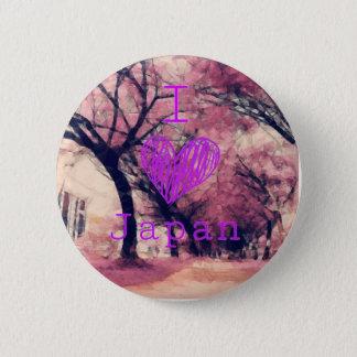 Pin I love Japan.
