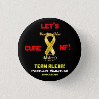 PIN - LET'S  CURE NF!  TEAM ALEXA!, 10-10-2010 RUN