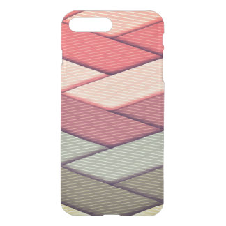 Pin Striped Ribbon Pattern iPhone 8 Plus/7 Plus Case