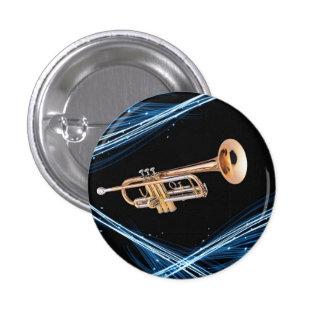 Pin trumpet player