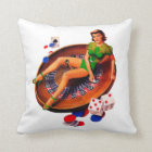 Pin Up Casino Girl Las Vegas Cushion