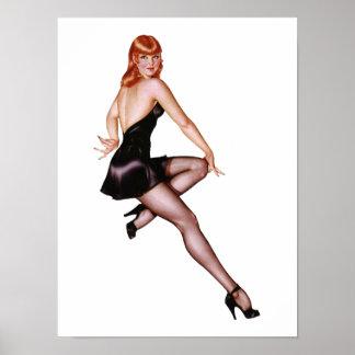 Pin Up Girl #3 @ GarysRetroGarage Poster