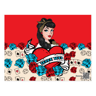 Pin-up Girl, Thank You Cards