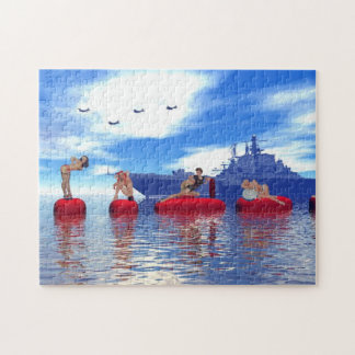 Pin-up girls jigsaw Puzzle Jigsaw Puzzle