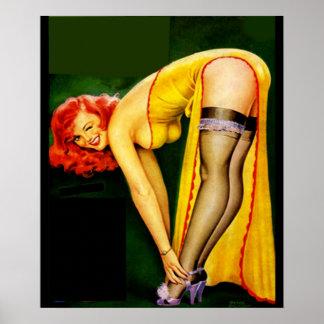 pin up girls, pin up,pinups poster