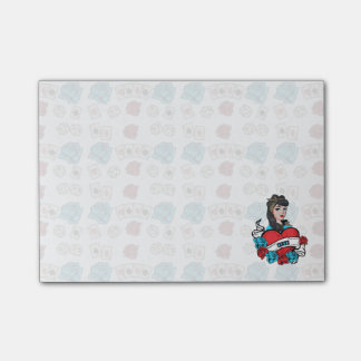Pin-up, Rock-A-Billy Post-it Notes