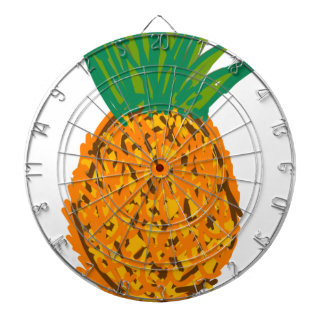 pina fruta pineapple dartboard