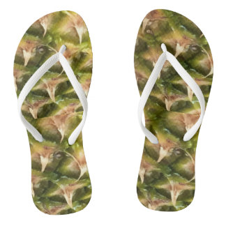 Piña on the Beach Pineapple Party Thongs
