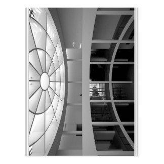 Pinakothek der Moderne M?nchen Blick in die Eingan Postcard