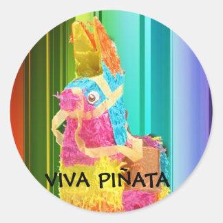 PINATA copy, VIVA PIÑATA Round Sticker