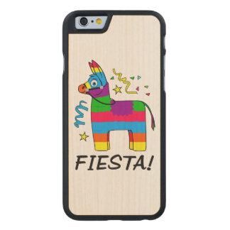 Pinata Fiesta! Carved Maple iPhone 6 Case