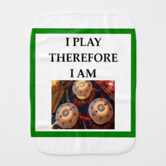 PINBALL BURP CLOTH