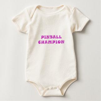 Pinball Champion Baby Bodysuit