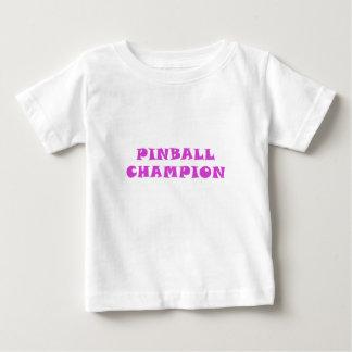 Pinball Champion Baby T-Shirt