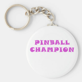 Pinball Champion Key Ring