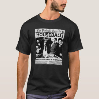 pinball house ball shirt