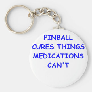 pinball key chains