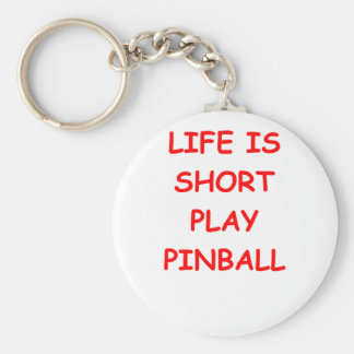 pinball key chain