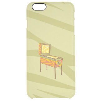 Pinball machine clear iPhone 6 plus case