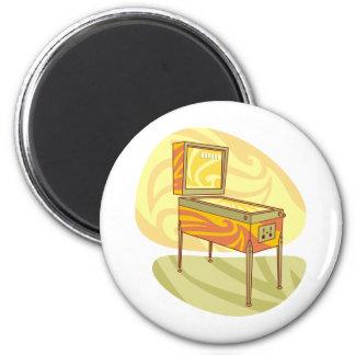 Pinball machine magnet