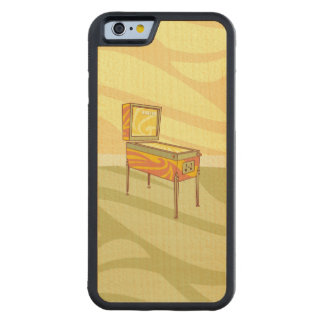 Pinball machine maple iPhone 6 bumper case