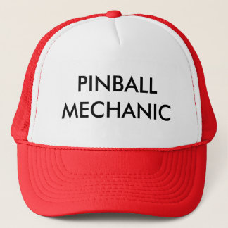PINBALL MECHANIC TRUCKER HAT