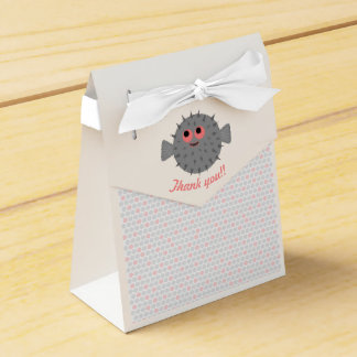 Pinball the Puffer Party Favor Box (small)