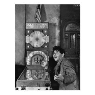 Pinball Wizard: 1940s Postcard