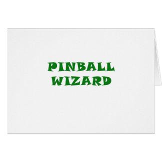Pinball Wizard Card