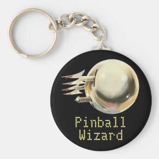 Pinball Wizard Key Ring