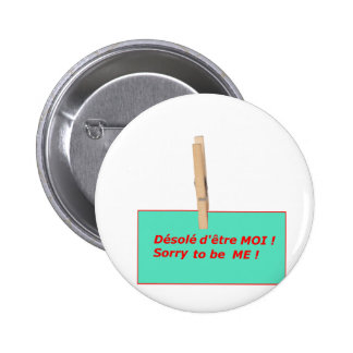 PINCE A LINGE ETRE MOI TO BE ME 1 PNG BADGE