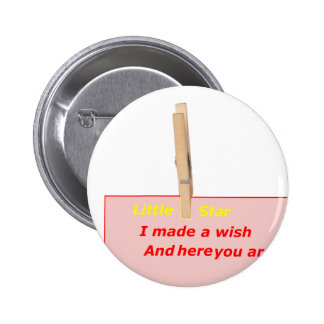 PINCE A LINGE STAR WISH HERE 1 PNG PIN'S