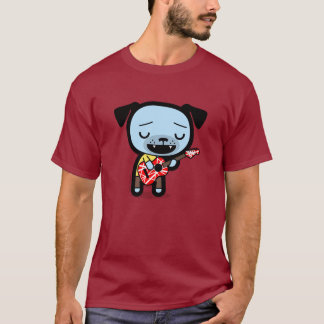 "Pinche Amigos Men's T-Shirt: ""Guitar Dog"" T-Shirt"
