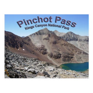 Pinchot Pass on the John Muir Trail Postcard