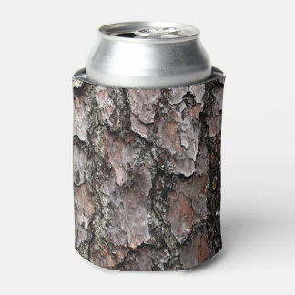Pine Bark Pattern Can Cooler