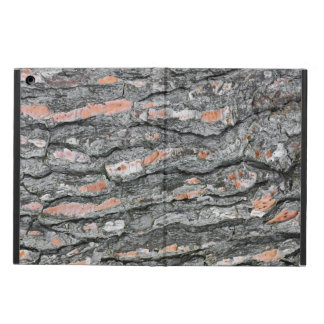 Pine bark pattern cover for iPad air