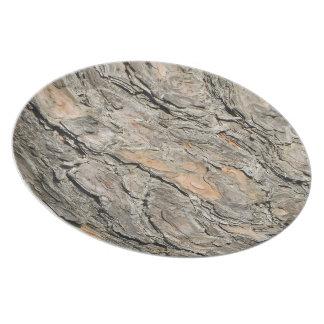Pine Bark Plate