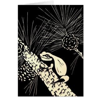pine barrens tree frog card