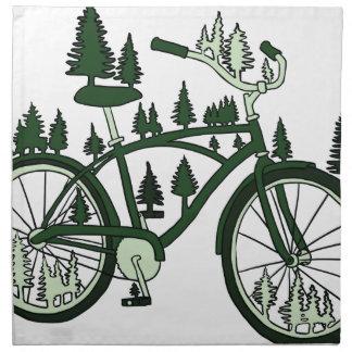 Pine Bike Napkin