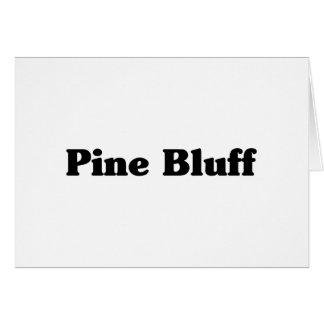 Pine Bluff  Classic t shirts Greeting Card