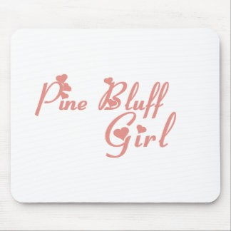 Pine Bluff Girl tee shirts Mouse Pad